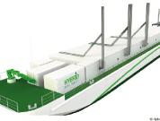 hybrid port barge
