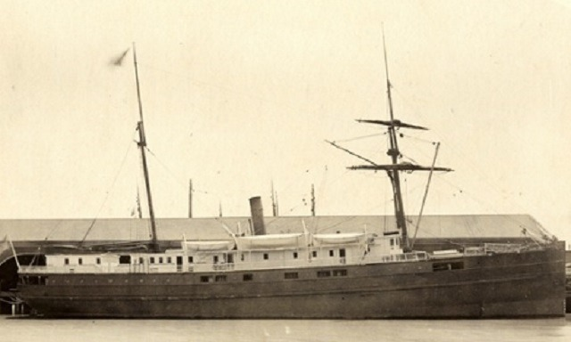 San Francisco Bay Old Shipwreck