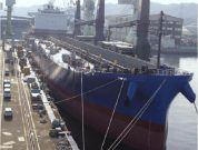 World's First Long Rail Transport Vessel Under Construction