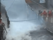 Video: Fishing Vessel in Heavy Storm, Dangerous Job For Crew