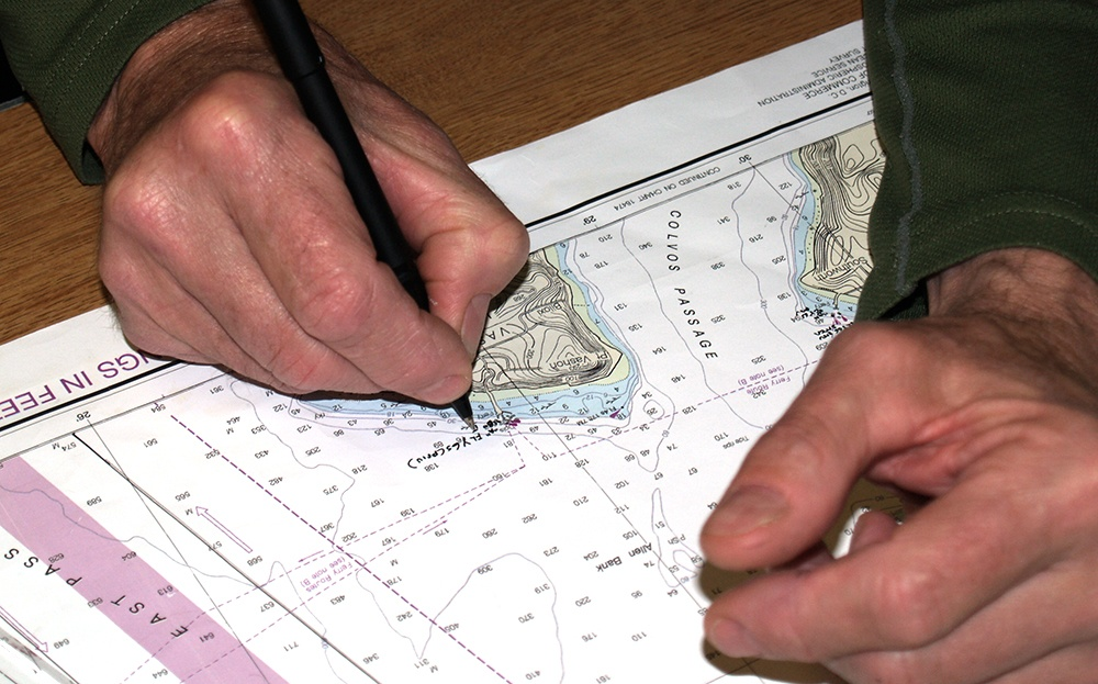 8 Things to Consider While Doing Nautical Chart Plotting On Ships