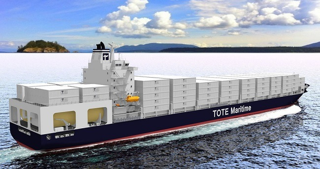 """""""TOTE, INC. CONTAINERSHIP"""""""