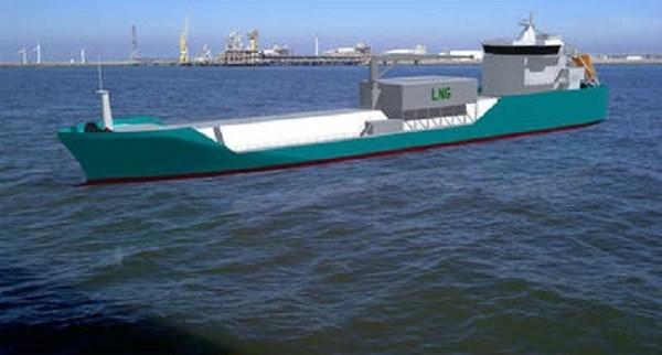 LNG_Bunkering_Vessel_sailing