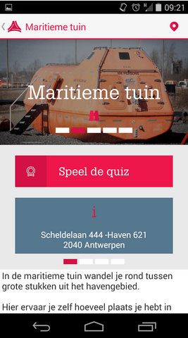 PORT OF ANTWERP APP