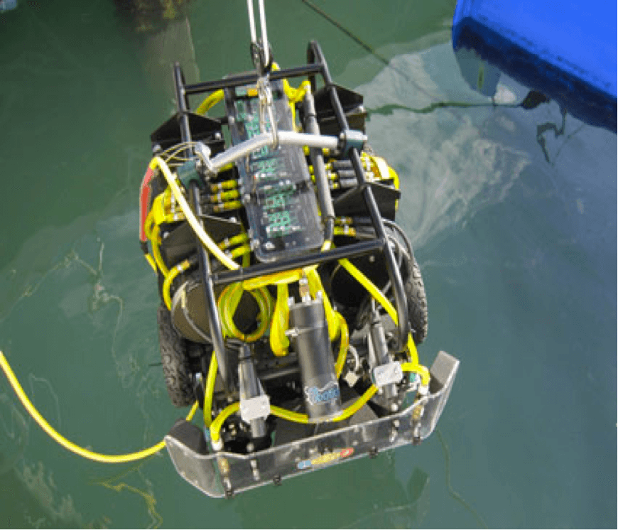 Hull Cleaning Robot