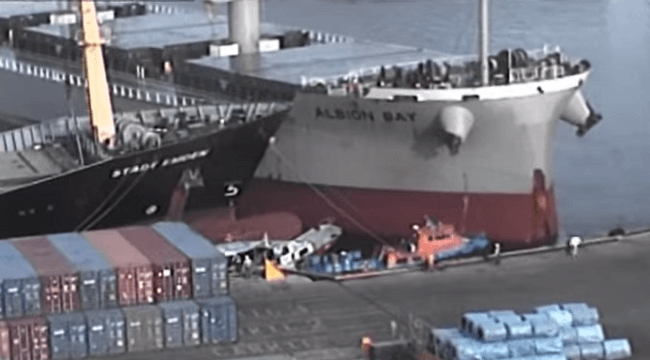 ship collision