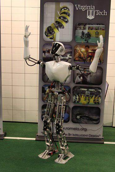 virginia tech robot