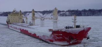 cold weather ship