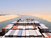7 Cool Time-lapse Videos Of Ships Transiting Suez Canal