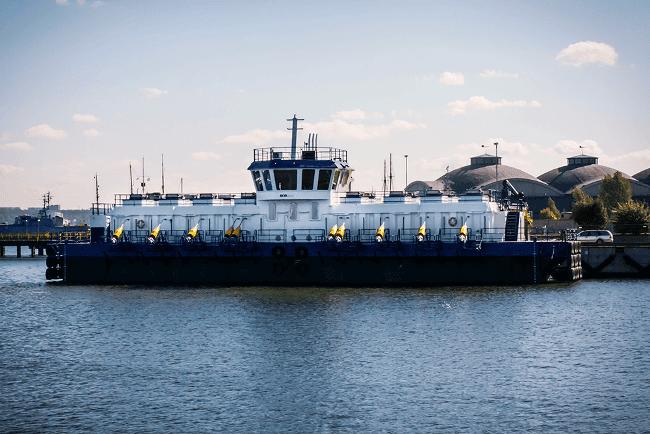 AKVA Group barge