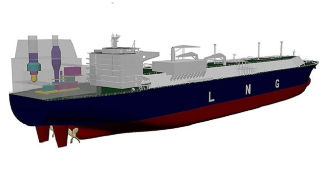 Gas Turbine Powered LNG Carrier