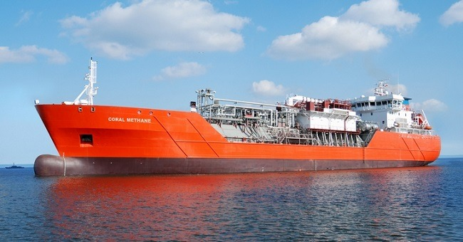ethane gas carrier
