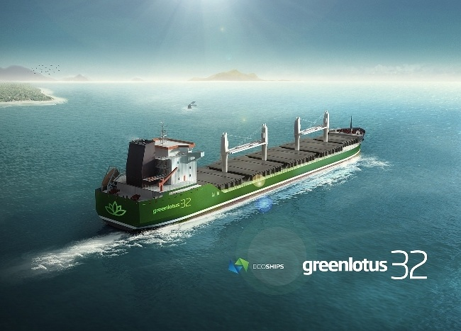 Bulk Carrier Design Inspired By Lotus Flower