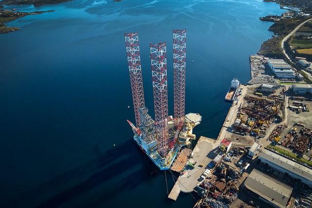 Jack up Rig -Maersk Interceptor