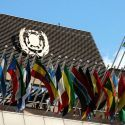 Flags and Logo of the IMO