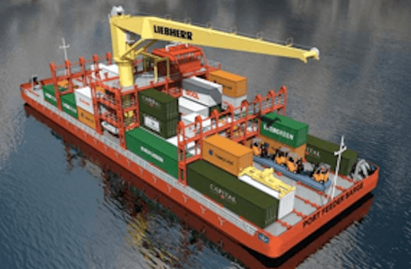 Innovative Port Fender Barge: Self-Propelled Barge To Reduce Congestion In  Ports