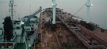 Bunkering Operation ship