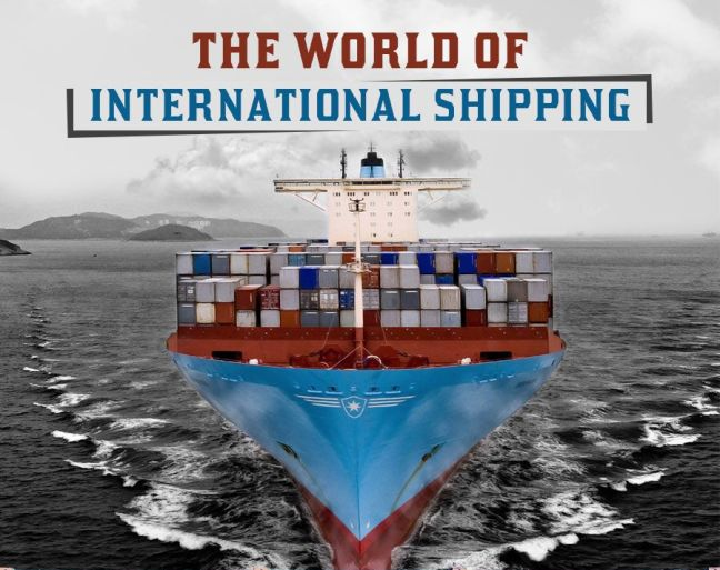 Infographic  World Of International Shipping
