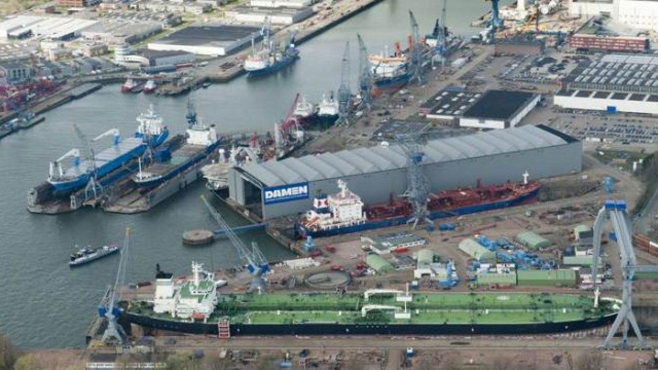 Damen Shipyards Cape Town Joins Women's International