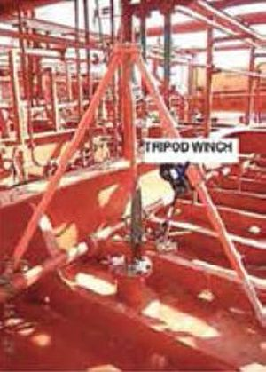 tripod winch