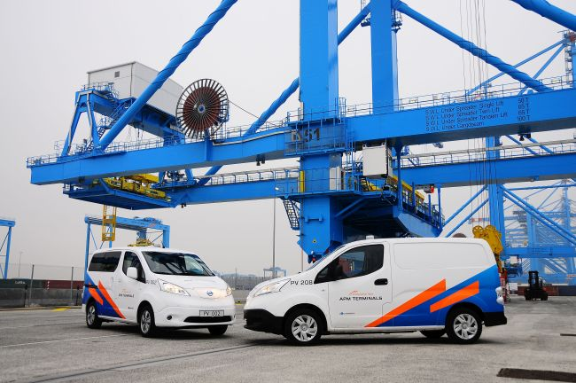 APM Terminals MV2 eco fleet