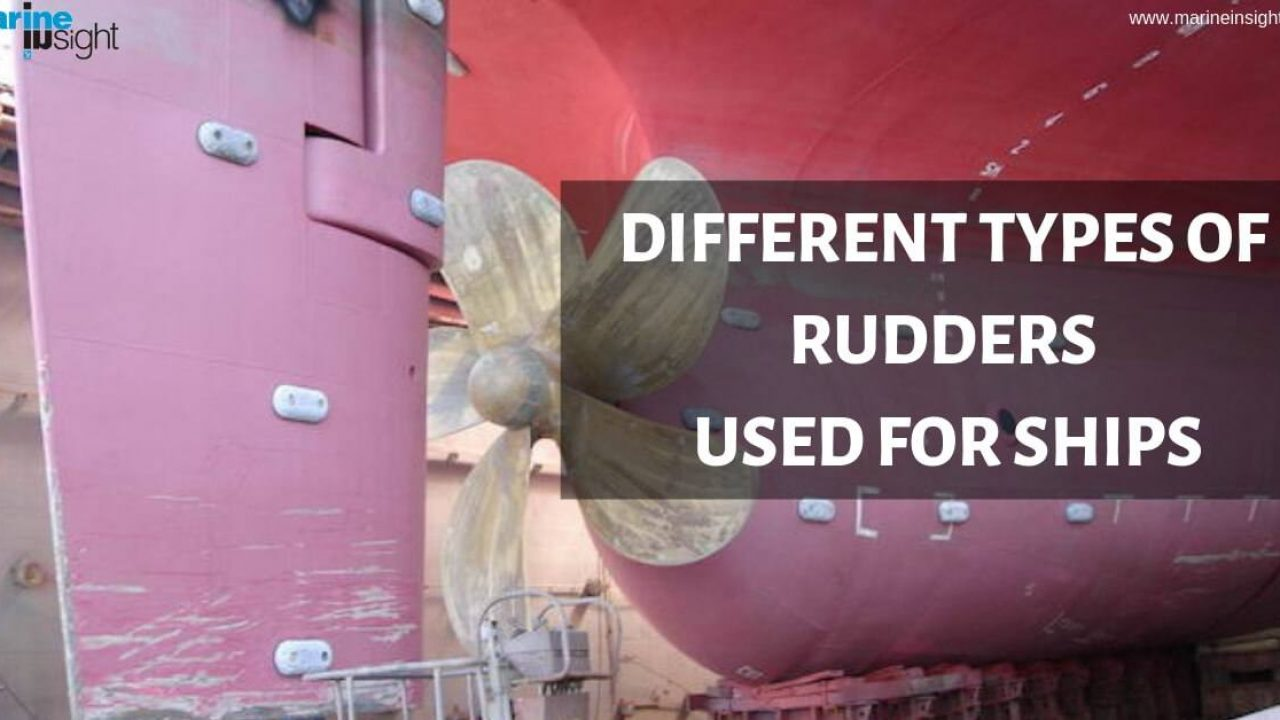Types of Rudders Used For Ships