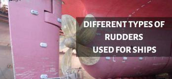 types of rudders