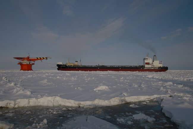 arctic shuttle tanker