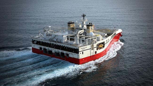 Ramform Titan class ship