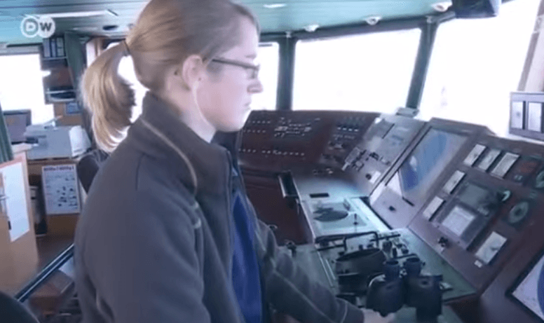 women at helm
