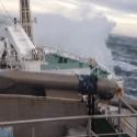 north sea storm