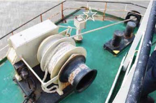 Real Life Accident Mooring Winch Ties Up Crew Member