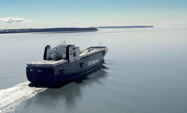tote natural gas ship