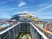 waterslide on harmony of the seas