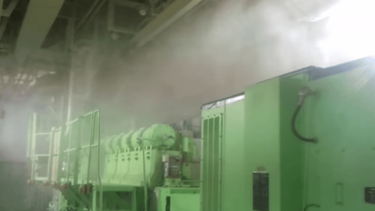 How High Pressure Water Mist Fire Fighting System For Ships