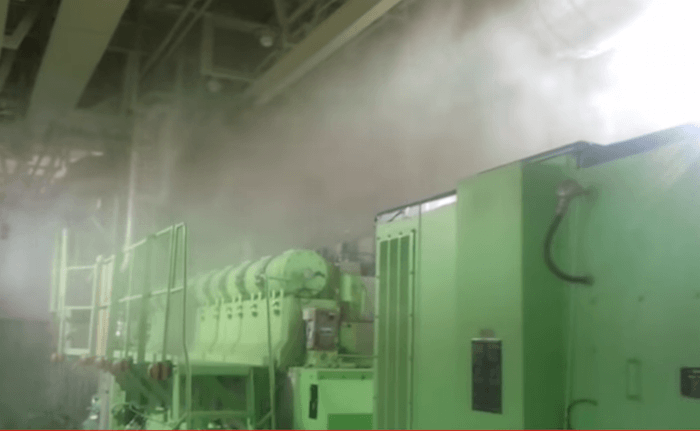 How High Pressure Water Mist Fire Fighting System For