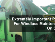 Extremely Important Points For Windlass Maintenance On Ships