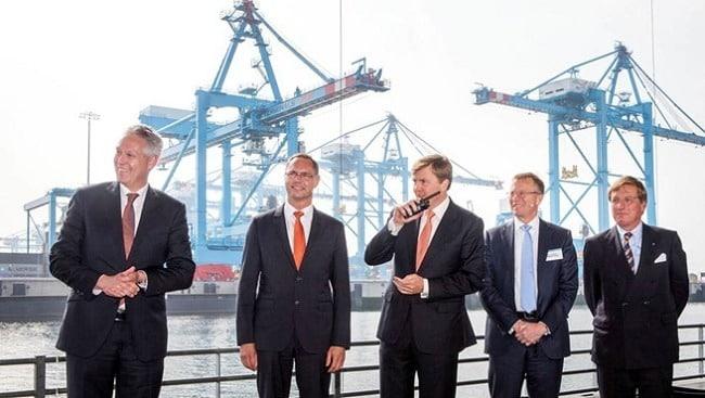 Opening Ceremony APM Terminals Maasvlakte II -  Credits: apmterminals.com