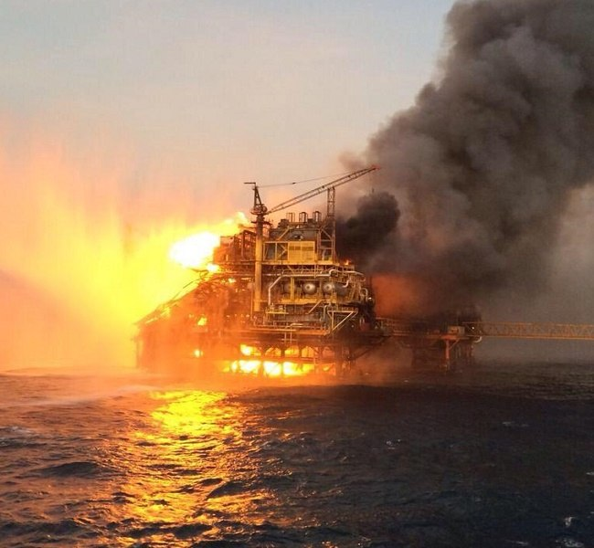 gulf of mexico rig fire