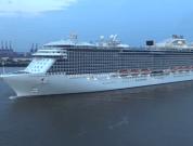 Watch: Cruise Ship Regal Princess' Maiden Call At Hamburg