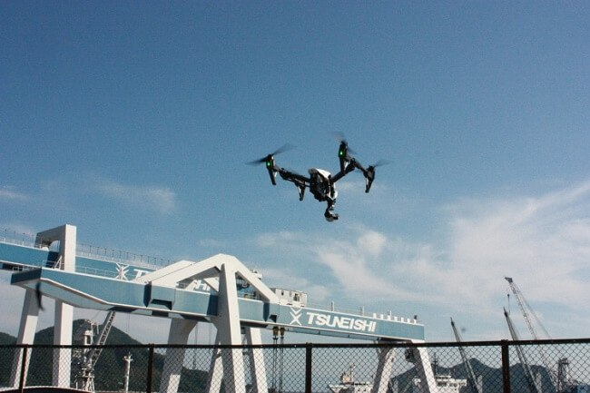 Drones To Be Used In Shipbuilding Process For Increasing