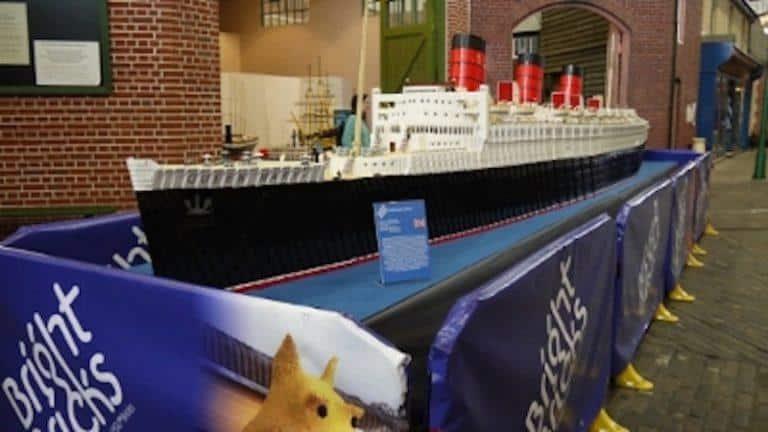 lego cruise ship