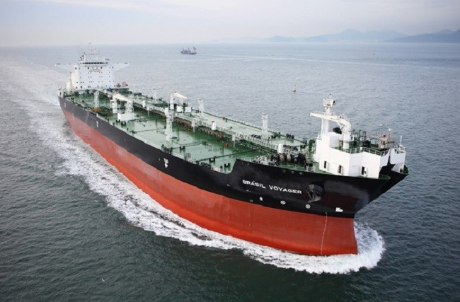 A 150,000DWT shuttle tanker built by Samsung Heavy Industries - Credits: samsung.co.kr