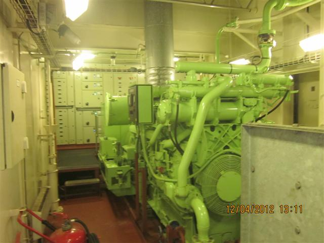 How Is Power Generated And Supplied On A Ship