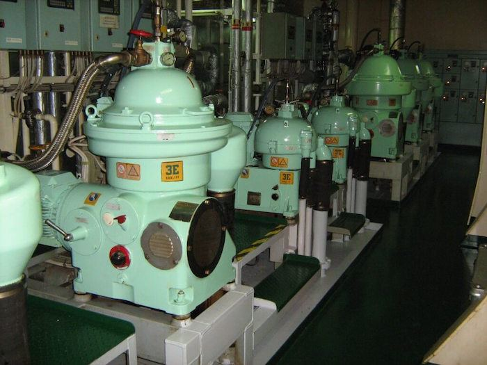 High Speed Centrifuge On Ship Construction And Working