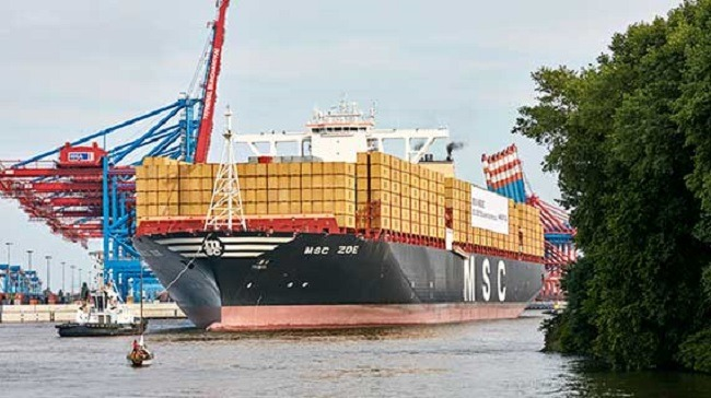 MSC Zoe - World's Largest Container Ship To Be Christened At The