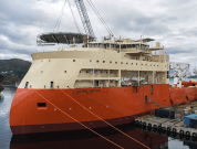 Watch: Ulstein Launches Its Largest Offshore Vessel