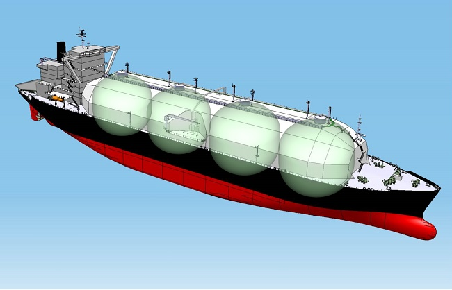 MOL Newbuilding LNG Carrier for Osaka Gas named