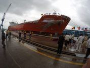 Watch: Naming Ceremony Of LPG Carrier M/V Kaprijke