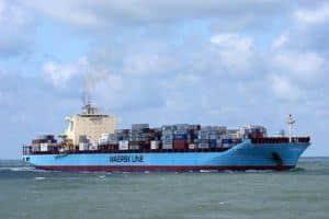 Maersk ship